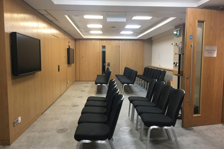 AV over IP system integration for the Royal Society of Medicine (RSM), Seminar Suite Room 1