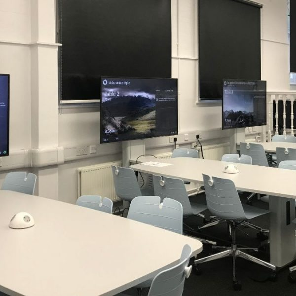 Huddle space design and solutions at Goldsmiths University of London